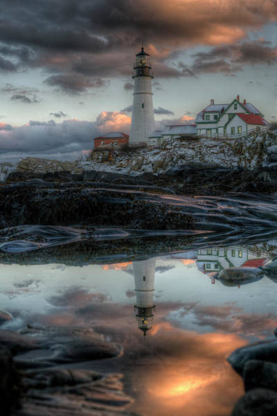 Photograph - Dawn Doubled by Patrick Groleau