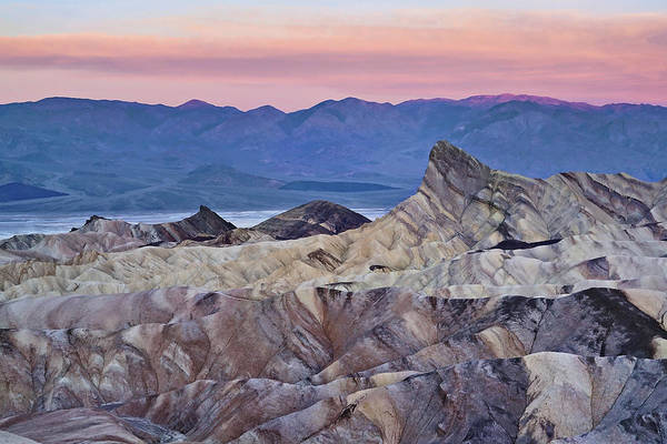 Photograph - Dawn In Death Valley by Leda Robertson