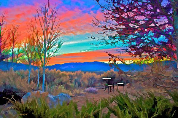 Digital Art - Dawn In El Prado  by Charles Muhle