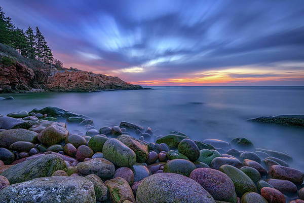 Photograph - Dawn In Monument Cove by Rick Berk