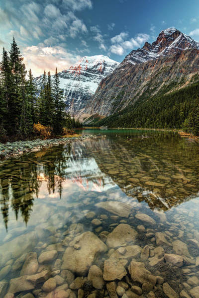 Photograph - Dawn In The Canadian Rockies by Pierre Leclerc Photography