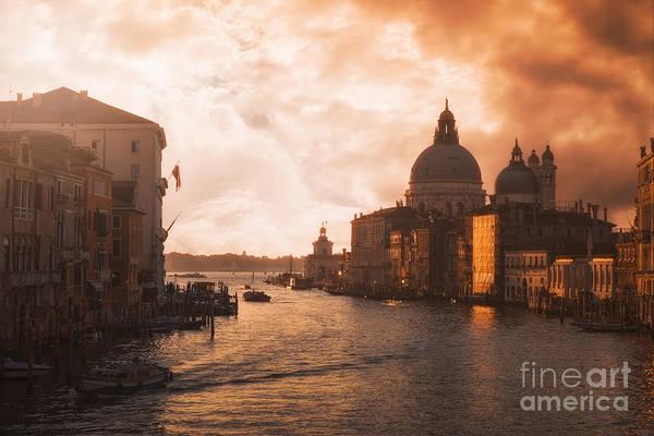 Photograph - Dawn In Venice by Traven Milovich