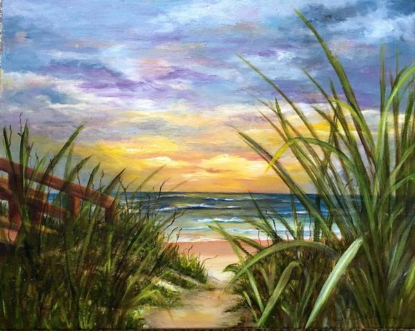 Painting - Dawn Is Breaking  by Susan Dehlinger