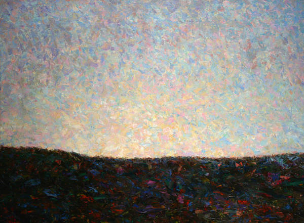 Palette Painting - Dawn by James W Johnson