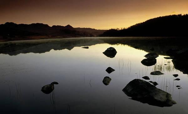 Photograph - Dawn Llynnau Mymbyr by Peter OReilly
