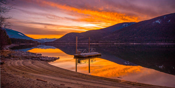 Nelson Bc Photograph - Dawn Of A New Day by Joy McAdams