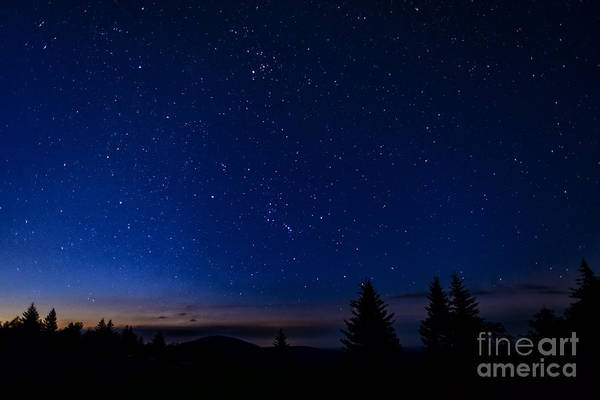 Highland Scenic Highway Wall Art - Photograph - Dawn Of Orion by Thomas R Fletcher
