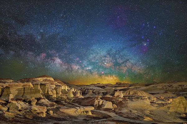 Dawn Of The Universe Art Print