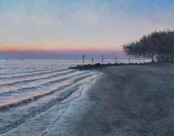 Captiva Island Painting - Dawn On Captiva by David P Zippi