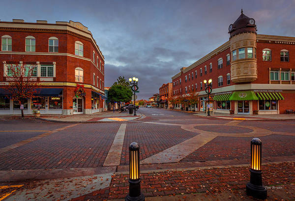 Wall Art - Photograph - Dawn On Park Street by Tim Bryan