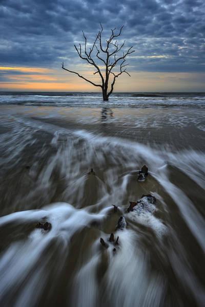 Photograph - Dawn On The Carolina Coast by Rick Berk