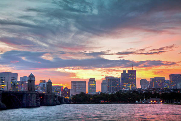 Wall Art - Photograph - Dawn On The Charles River by Susan Cole Kelly