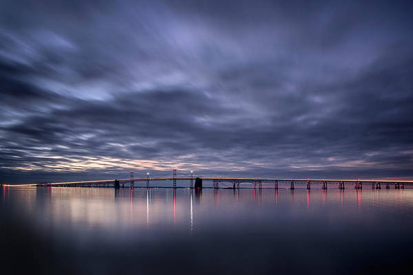 Dawn On The Chesapeake Art Print