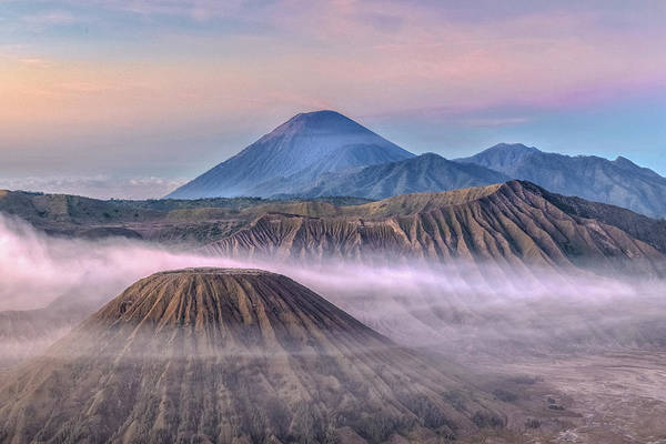 Rauch Wall Art - Photograph - Dawn Over Mount Bromo - Java by Joana Kruse