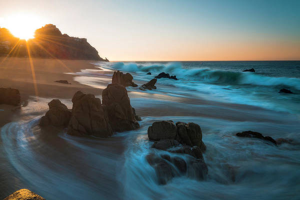 Photograph - Dawn Over The Cliffs by Owen Weber