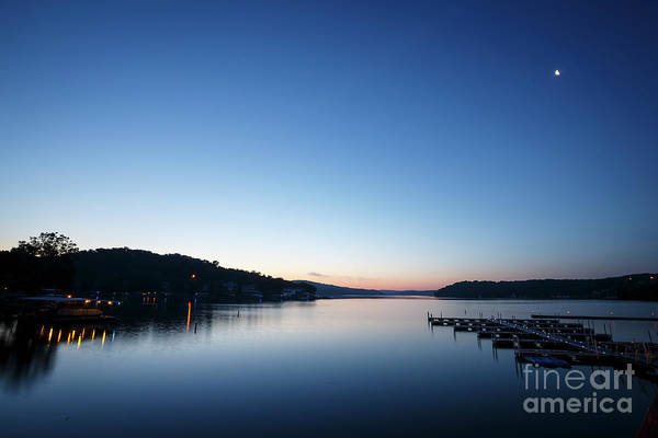 Missouri Ozarks Photograph - Dawn Over The Lake by Dennis Hedberg