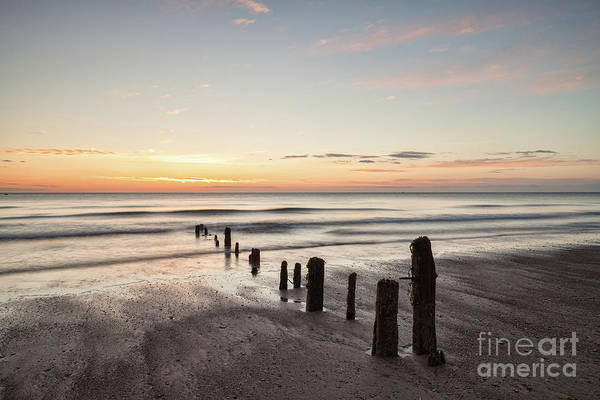 Wall Art - Photograph - Dawn, Sandsend Beach, North Yorkshire by Colin and Linda McKie