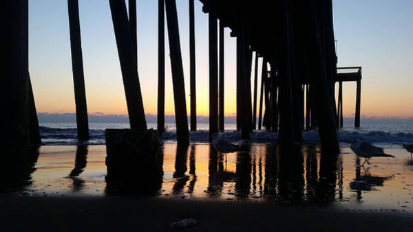 Photograph - Dawn Under The Pier by Robert Banach