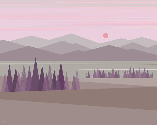 Digital Art - Dawn by Val Arie