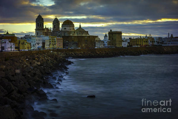 Photograph - Dawning In Cadiz Spain by Pablo Avanzini