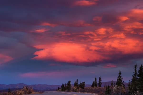Photograph - Dawns Fireworks by Jeff Folger