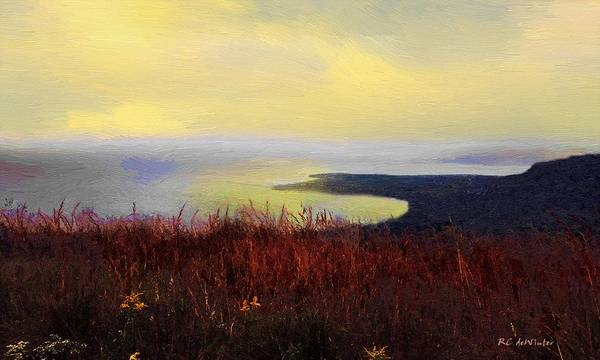 Painting - Dawn's Kiss by RC DeWinter