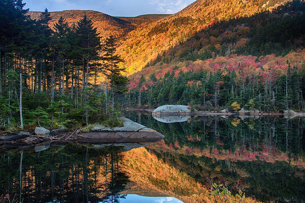 Beaver Pond Wall Art - Photograph - Dawns New Hampshire  Reflection by Jeff Folger