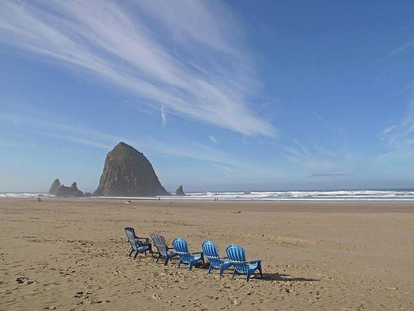 Photograph - Day At Haystack Rock by Suzy Piatt