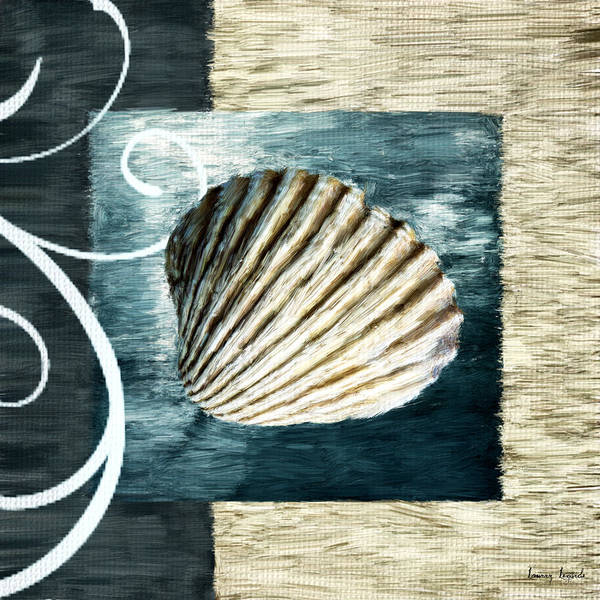 Cottage Style Wall Art - Digital Art - Day At The Beach by Lourry Legarde