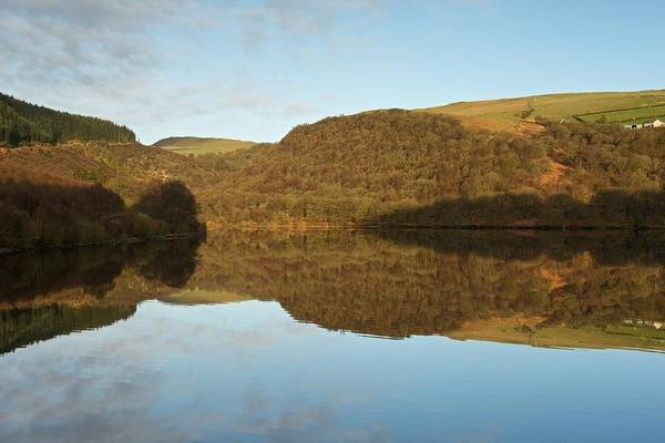 Photograph - Day Break In The Elan Valley by Stephen Taylor