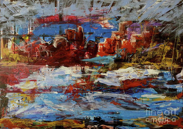 Painting - Day Dreaming Sedona Arizona by Reed Novotny