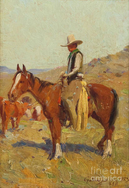 Painting - Day Herder by Celestial Images