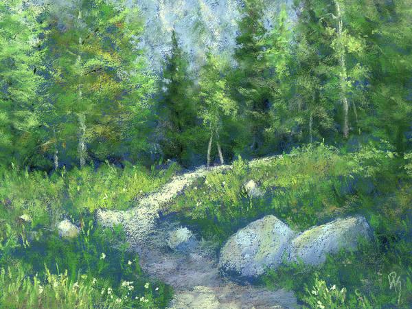 Day Hike Art Print