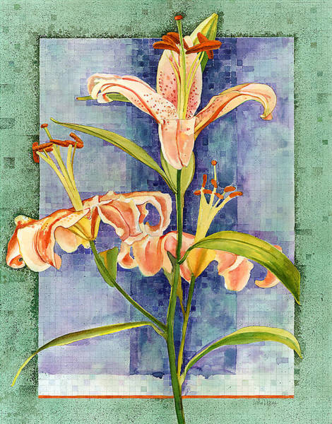 Painting - Day Lily by John Dyess