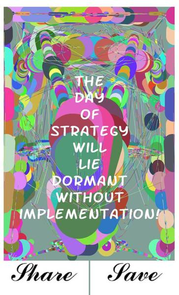 Photograph - Day Of Strategy by Bc Adamkowski