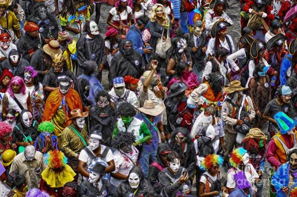 Photograph - Day Of The Crazies Parade 2015 by John  Kolenberg