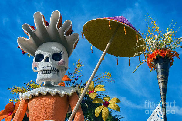 Tournament Of Roses Photograph - Day Of The Dead  by David Zanzinger