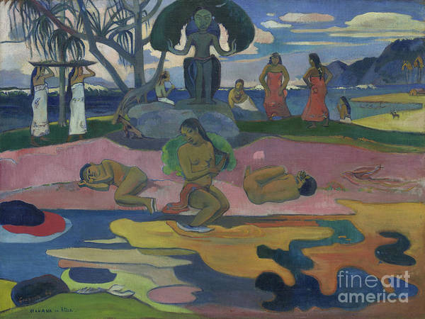 Painting - Day Of The God by Paul Gauguin
