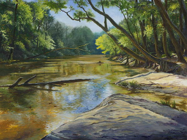 Painting - Day Off by Randy Welborn
