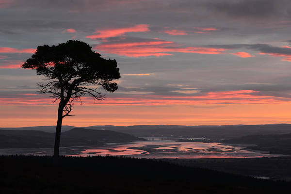 Photograph - Daybreak Above The Beauly Firth And Inverness by Gavin MacRae