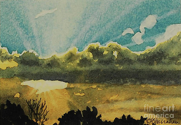 Wall Art - Painting - Daybreak by Annette McGarrahan