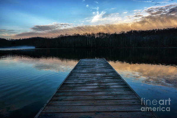 Photograph - Daybreak At The Dock by Thomas R Fletcher