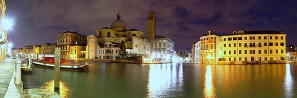 Photograph - Daybreak On The Grand Canal In Venice by Paul Cowan