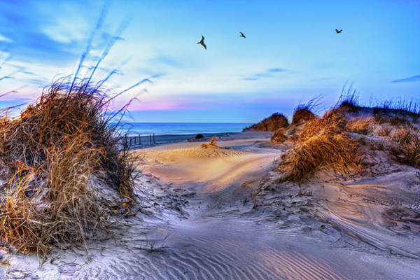 Wall Art - Photograph - Daybreak On The Outer Banks 1 by Dan Carmichael