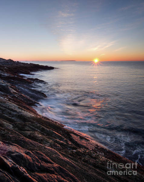 Photograph - Daybreak, Pemaquid Peninsula, New Harbor, Maine  -81368-81369 by John Bald