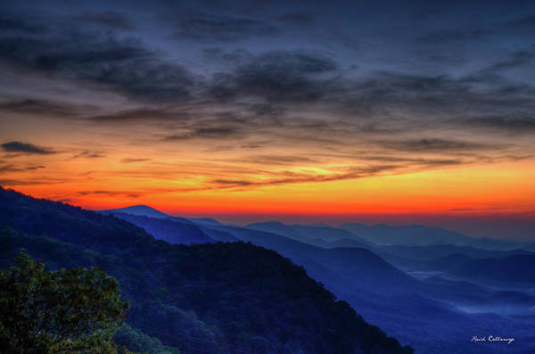 Photograph - Daybreak Pretty Place Chapel Greenville South Carolina Great Smoky Mountains Art by Reid Callaway