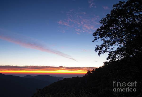 Photograph - Daybreak, Shenandoah National Park, Virginia  -84246 by John Bald