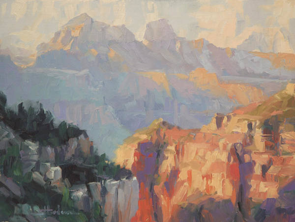 Outdoor Wall Art - Painting - Daybreak by Steve Henderson