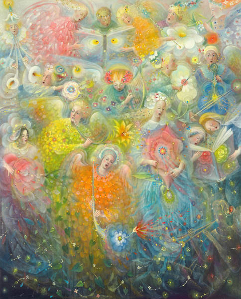 Wall Art - Painting - Daydream After The Music Of Max Reger by Annael Anelia Pavlova