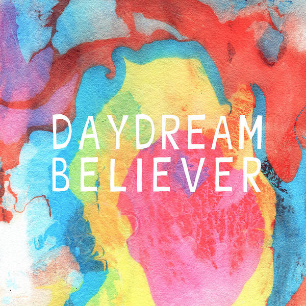 Believers Painting - Daydream Believer- Abstract Art By Linda Woods by Linda Woods